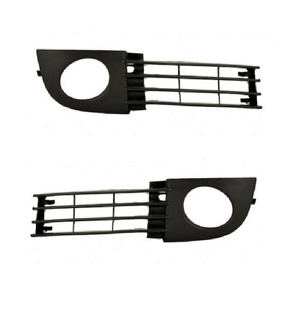 AUDI A6 C5 02-05 2 Gitter Blende Stoßstange Nebelscheinwerfer VORNE LINKS RECHTS