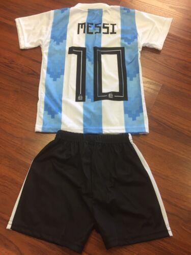 New Selección Argentina Lionel MESSI Trajecito Niño KIDS