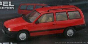 OPEL Kadett E - Caravan - 1984-1991 - red - Atlas 1:43