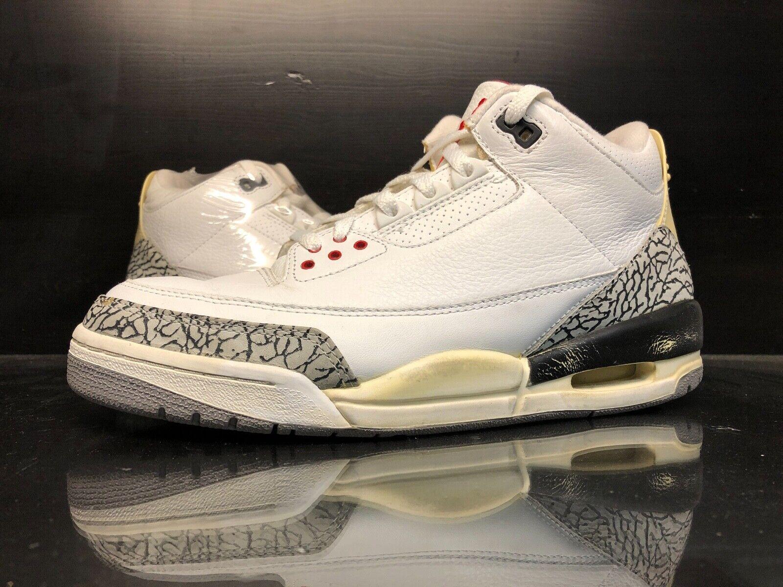 Air Jordan White Cement 3 III - 9
