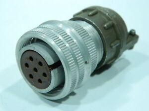 norme MIL Connettore AN3106-16S-1S femmina volante 7 pin completo di serracavo