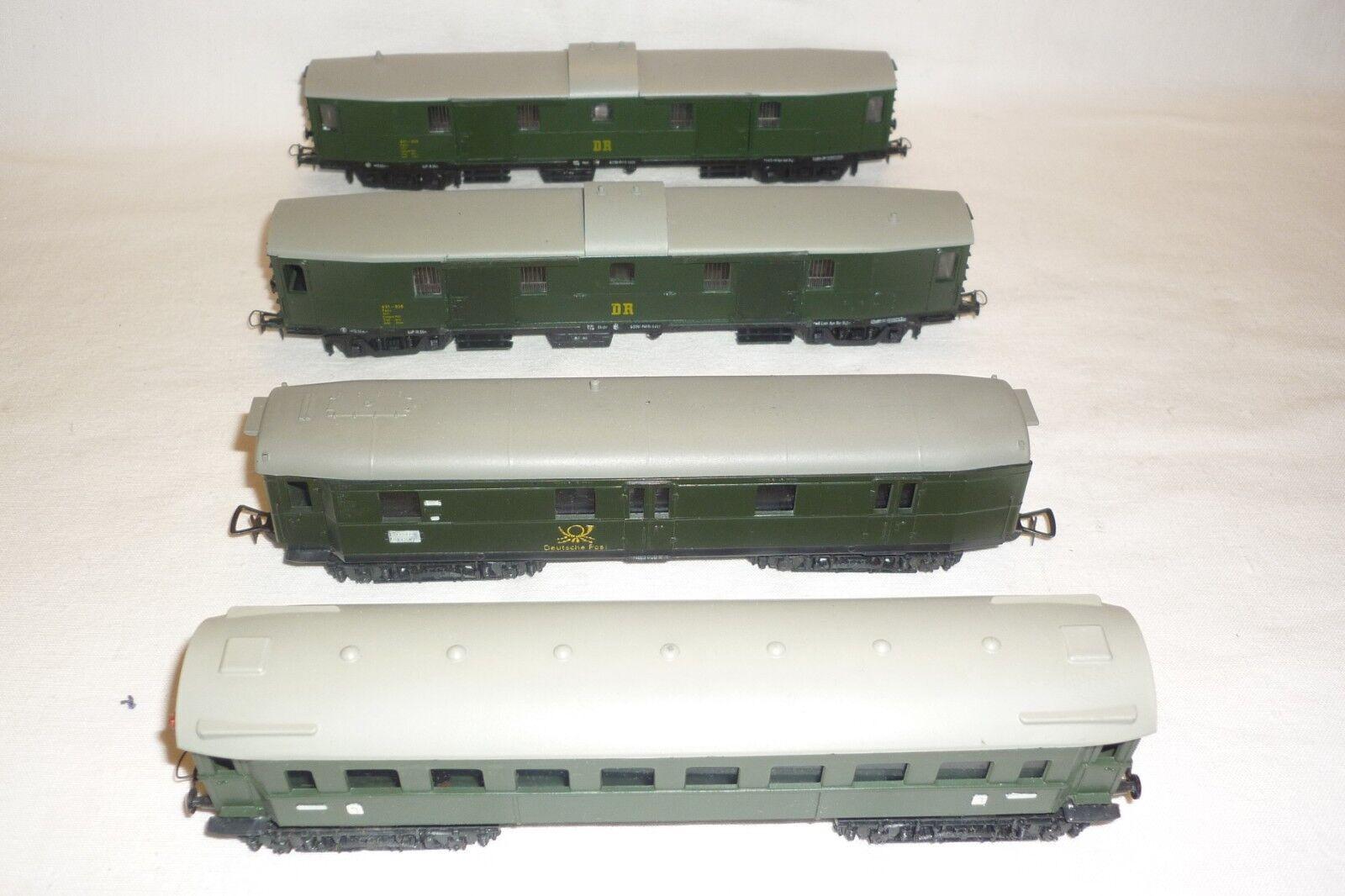 Capa - Escala H0-Conjunto-1 Vagones   3 Vagón Portaequipajes (8.ei-264)