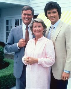 Larry-Hagman-como-John-Ross-039-J-R-039-EW-estampado-Cartel-61x50-8cm-Wonderful
