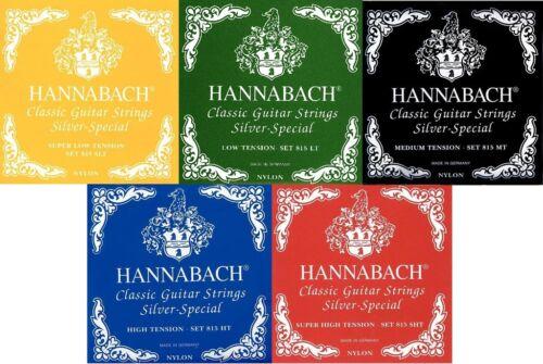 verschiedene Spannungen Hannabach 815 silver special