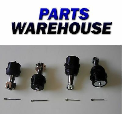 4 Ball Joints Jeep Grand Wrangler Comanche Brand New 1 Year Warranty