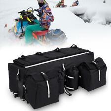 ATV Back Seat Rear Pack Passenger Cushion Storage Bag Camo Luggage Rack Hunting