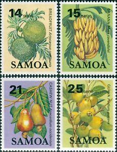 Samoa-1983-SG655-658-Fruit-MNH