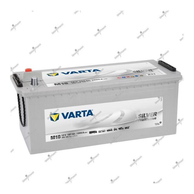 Batterie unterstuetzende Silber varta M18 12v 180AH 1000A