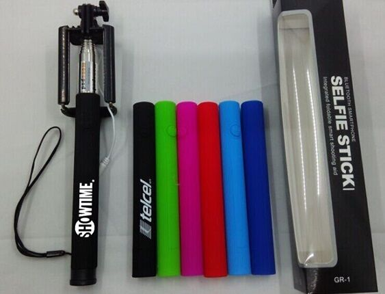 75 Personalized Collapsible Monopod Selfie Sticks - Custom Wholesale Bulk Lot