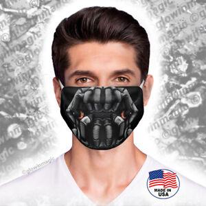 Bane-face-mask-The-Dark-Knight-Batman-movie-Washable-amp-Reusable-Free-Shipping