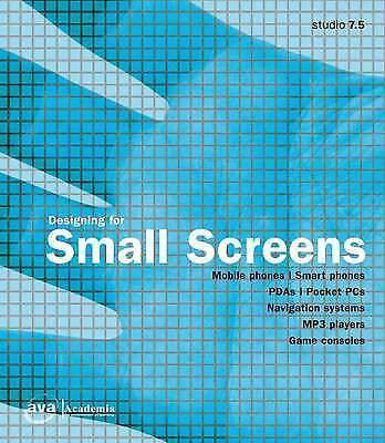 1 of 1 - Very Good, Designing for Small Screens, , Book