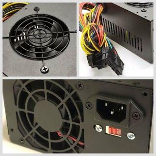 Brand NEW--Lead Power 650w-MAX BLUE ATX Power Supply 20+4Pin SATA /& PCIe