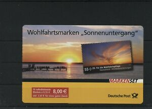 Germany-BRD-Federal-Stamp-Booklet-MH-77-Postmarked-Used-More-See-Shop