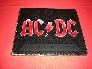 """AC/DC """" BLACK ICE """" CD 696459113196"""
