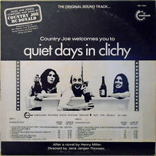 "12"" Country Joe McDonald Quiet Days In Clichy (Soundtrack) Vanguard VSD 79303"