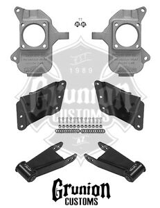 Details about Chevy Silverado 3500 HD Dually 2/4 Lowering Kit Dually  2002-2010 McGaughys 33079