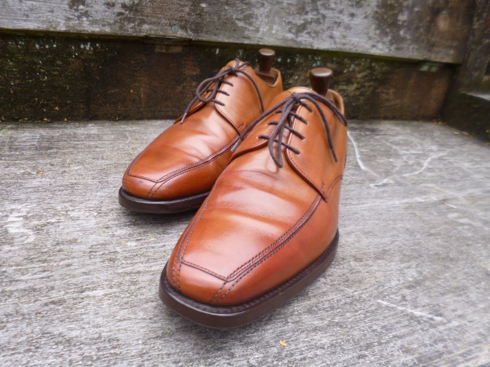 CHEANEY / CHURCH CHURCH CHURCH DERBY Schuhe – BROWN / TAN  - UK 8 – RYDE - EXCELLENT CONDITION 4434a2