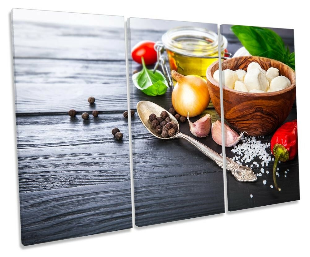 Cucina ITALIANA ingrossoiente foto TREBLE TELA Wall Wall Wall Art Print 21b784
