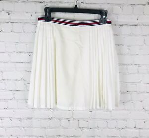 ee09d88252bf Image is loading SILENCE-NOISE-Urban-Outfitters-Pleated-Mini-Skirt-White-
