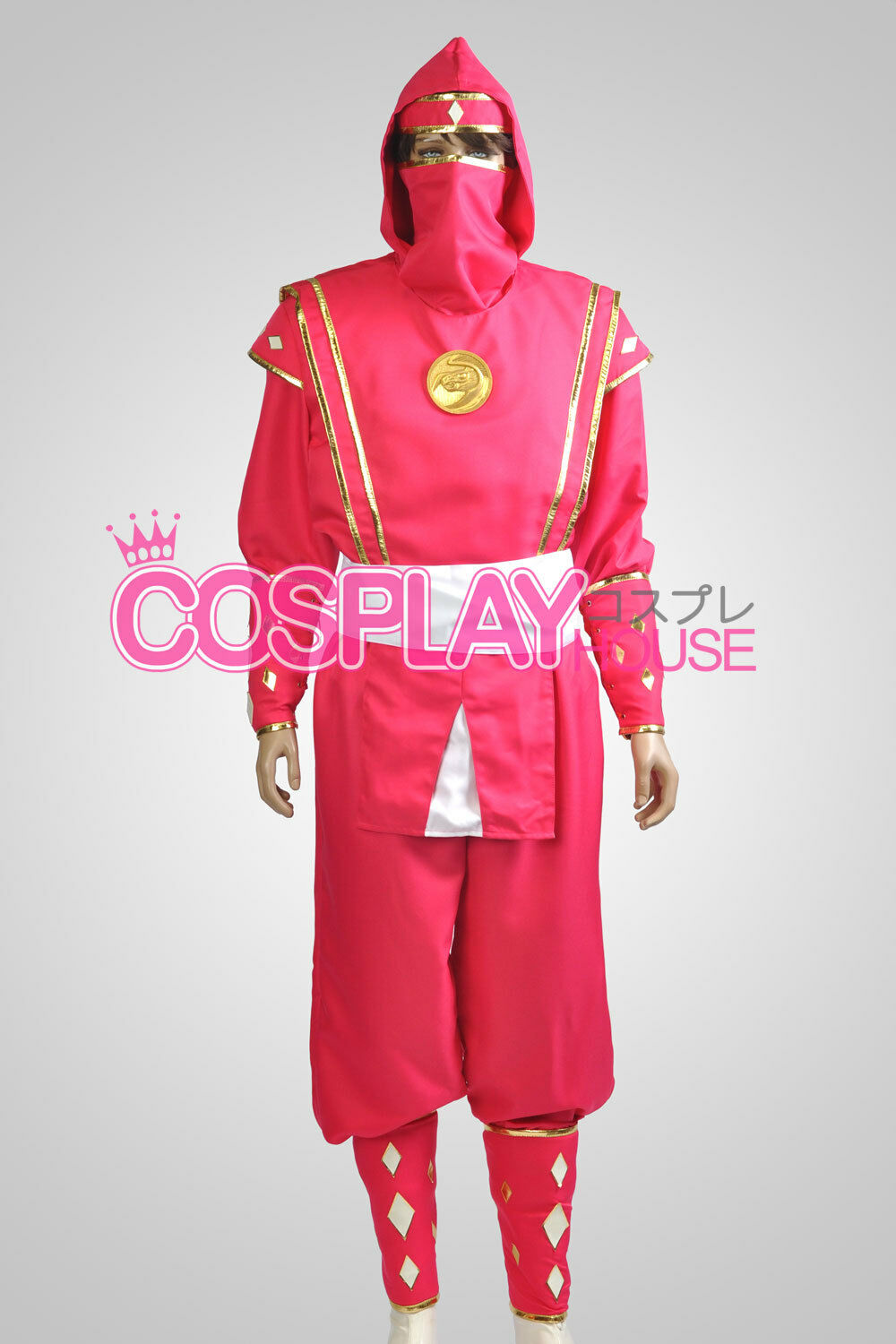 Mighty Morphin Power Rangers: The Movie - Pink Ninjetti Ranger Cosplay Costume