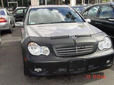 Colgan Front End Mask Bra 2pc. Fits Mercedes-Benz C230 2006-2007 W/O License pl.