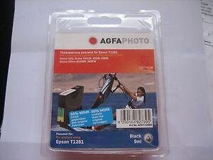NUOVO-AGFA-PHOTO-INCHIOSTRO-SENZA-ORIGINALE-T1281-PER-EPSON-SX125-420W-425W