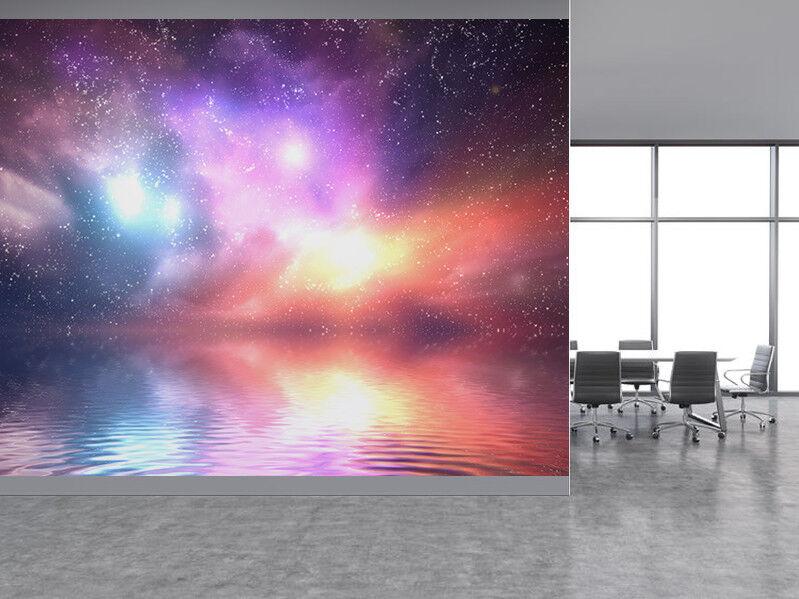 Galaxy und Raum Himmel Foto Wandtapete Wandgemälde (40633205)