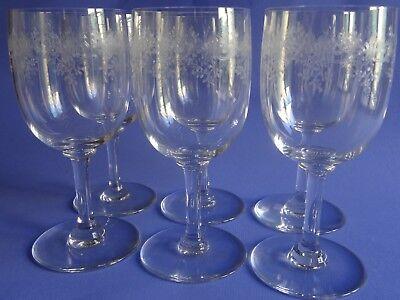 Koop Goedkoop 6 Anciens Verres A Aperitif Cristal Baccarat Modele Sevigne Ht 11 époque 1920
