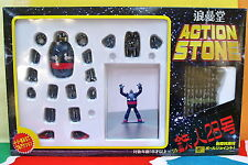 GIGANTOR TETSUJIN FULL ACTION STONE ROMANDO MARMIT T 28 JOINTED POSEABLE