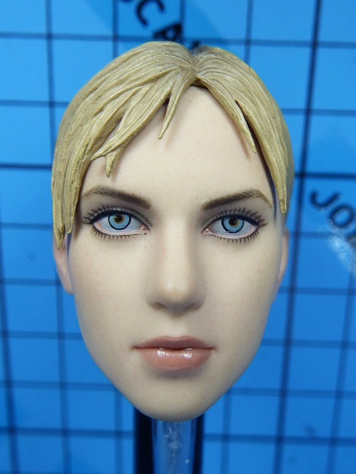 Hot Toys 1 6 VGM13 Jill Valentine (Battle Suit) Figure - Head Sculpt