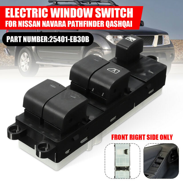 RHD Master Power Window Switch For Nissan Navara D40 Pathfinder R51 Qashqai New