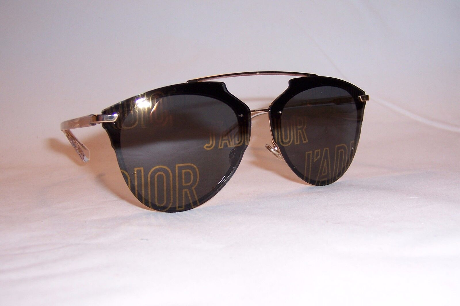 8537e977f4a3 Dior Sunglasses Reflected P Gold J adior Statement Loj7y Authentic ...