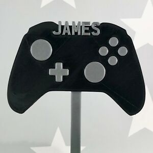 Image Is Loading Gamer Gaming Video Game Controller Birthday Cake Topper