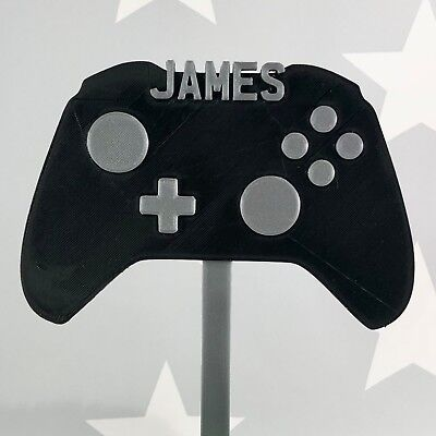 Astonishing Gamer Gaming Video Game Controller Birthday Cake Topper Funny Birthday Cards Online Alyptdamsfinfo
