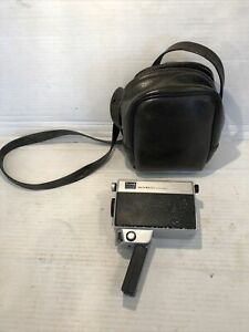 Vintage M12 Instamatic Movie Camera In Leather Case