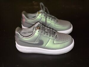 Women's About Force Dark 10 Upstep Premium Ds Air 1 Sz Nike Lx Stucco Rare Details Green Us SqUpzGMV