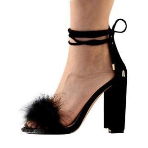 Block Heels Sexy Summer Sandals Shoes