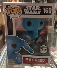 Funko Pop Vinyl Star Wars # 160 Max Rebo Funko Specialty Series New