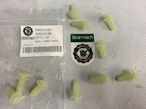 Bearmach-Range Rover Classic Puerta Tarjeta Recortar Clips Pack de 10 MWC3129