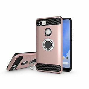 online store 202ff 4757a Details about Google Pixel 3 XL Case, Armor Dual Layer 2 in 1, shockproof.  ROSE GOLD
