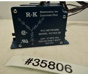 1 lot of 3 R-K Electronics RCY-6A-30 Voltage Filter (Inv.35806)