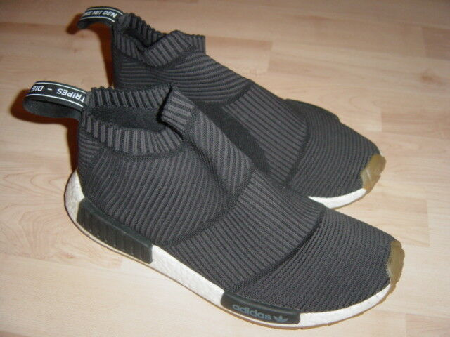 Adidas NMD CS1 Pk Citysock, Black/Gum, US 9 EUR 42 2/3