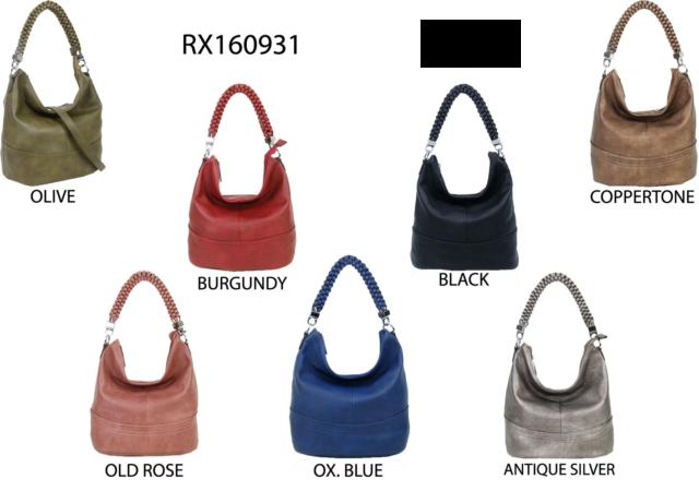 Neue Damen Stilvolle Soft Slouch Style Hobo Handtasche Schultertasche Casual Shopper Bags