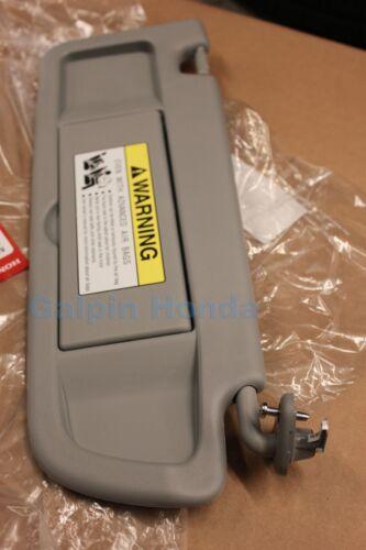 06-08 Honda Civic Si Genuine OEM Passenger/'s Clear Gray Sunvisor 83230-SNA-A01ZC