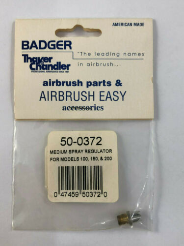 Badger Airbrush Co 50-0372 Medium Spray Regulator  New in Package Ships Free