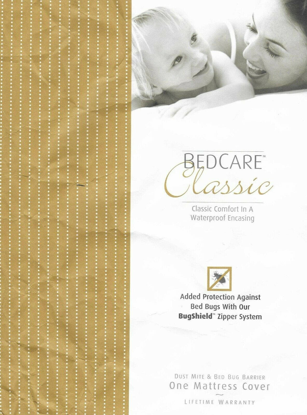 BedCare Classic Allergen Mattress Encasing Full 9 in Dust Mite & Bed Bug Barrier