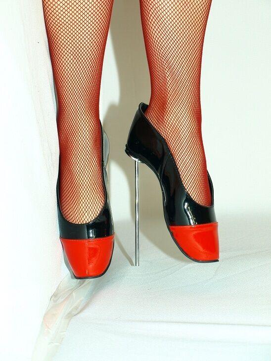 Pumps ballet  highs heels producer Poland -heels 21cm-grobe 37-47