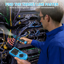New Listingtelephone Phone Wire Line Tracker Toner Tracer Tester Lan Network Cable Rj4511