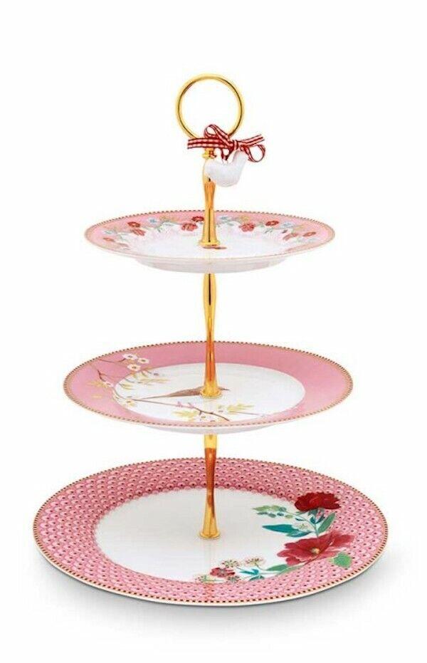PIP Studio Floral rosa alzate 17 26 50 cm rosa rosa NUOVO ESSENZA PORCELLANA