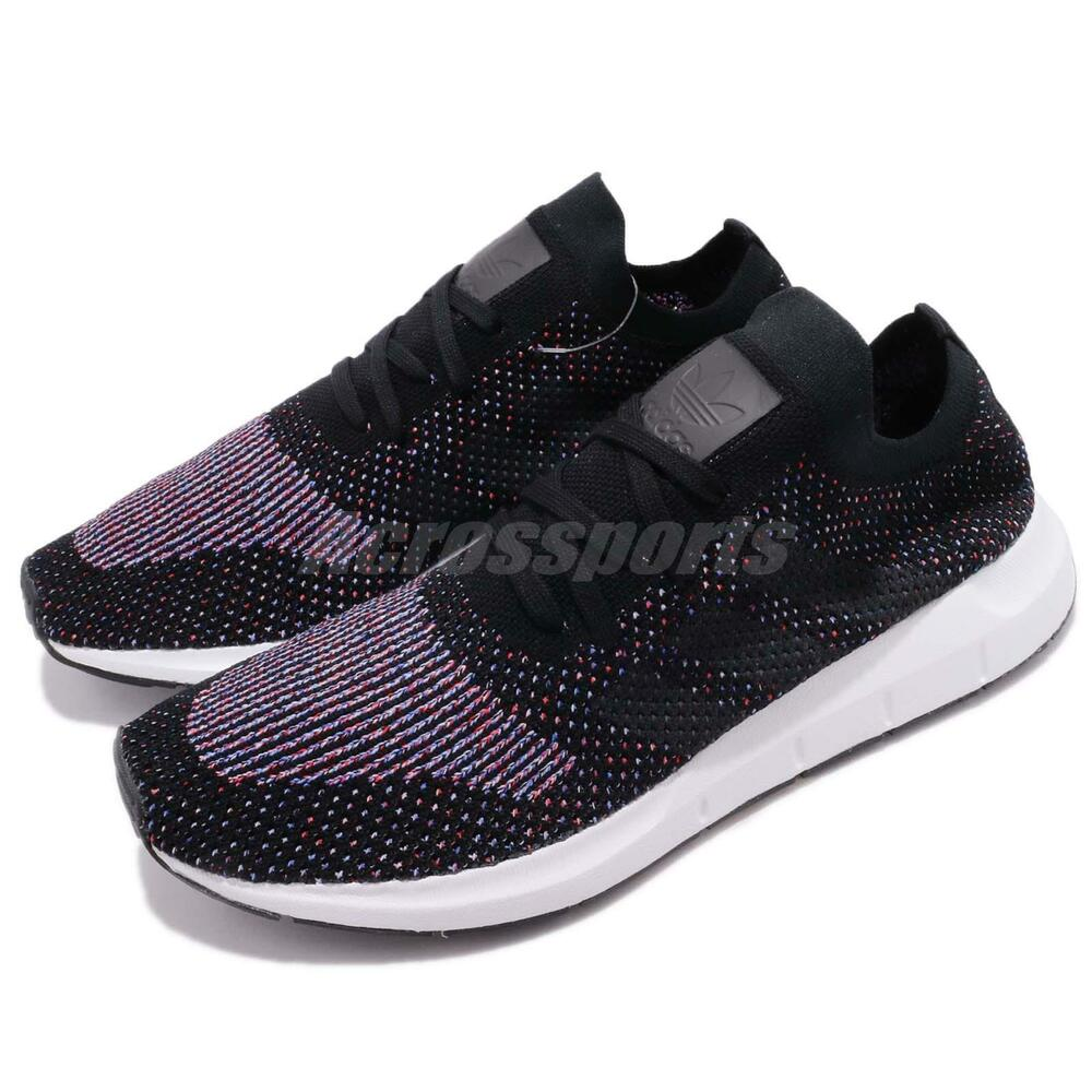 adidas Originals Swift courir PK Primeknit noir Gris homme fonctionnement chaussures CQ2894